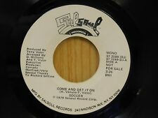 Soccer DJ 45 Come And Get It On mono bw stereo - SalSoul VG