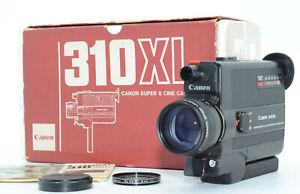 【TOP MINT w/ BOX】 Canon 310 XL Super 8 Movie 8.5-25.5mm F/1 Japan send #232