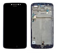 NEW Motorola MOTO E4 PLUS XT1770 Touch Screen Digitizer LCD Assembly Black Frame