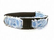 Diva Dog ~ Surf Cat Denim Dandelion Break-Away Collar ~ Adult Cat & Kitten Sizes