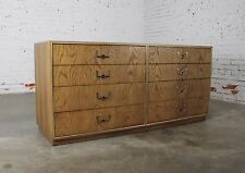 ON SALE! Vintage Campaign Style Eight Drawer Dresser by Founders Furniture