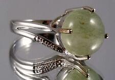 Aventurin Ring, 925er Silber, Gr. 17, Juwelo, mit Zertifikat