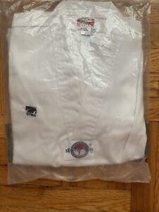 Taekwondo Uniform Size 2 (160) GTMS Golden Tiger New In Original Pack