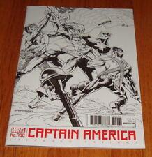 Captain America #700 Jim Steranko Black & White Sketch Variant Edition 1st Print