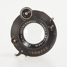 = Carl Zeiss Jena Tessar 16.5 cm f4.5 Lens Compur Shutter Large Format