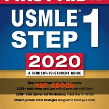 First Aid for the Usmle Step 1 2020, 30th Anniversary Edition-McGraw-Hill Educat