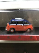 GIOCHER FIAT 600 MULTIPLA AUTOMOBIL CLUB MODENA  1:43 DIE CAST MODEL
