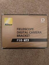 Nikon Fieldscope Digital Camera Bracket FSB-1A