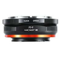 K&F Concept Adapter Pro for Canon FD Lens to Sony E-Mount Camera a7R2 A73 A7R4