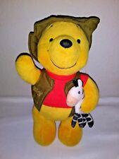"Disney Store Safari Winnie the Pooh with Zebra 10"""