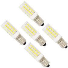 5x E12 Fassung LED Lampe 5W, mit 44 SMD 2835,Kaltweiß 6000K,360 Abstrahlwinkel