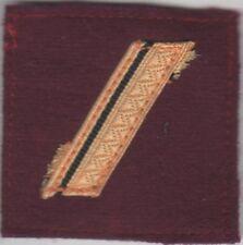 GALON Militaire Grade de poitrine pour SERGENT Service de Santé des Armées