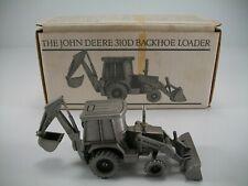 Spec Cast John Deere Pewter 310D Backhoe JDM-011 - Original Packaging No Papers