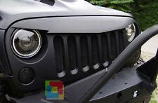 GRIGLIA ANTERIORE NERA OPCAO CALANDRA Jeep Wrangler JK & Rubicon JK 2007-2017