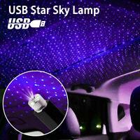 Car Decoration Projector Star Sky Ceiling Light USB LED Interior Atmosphere Lamp