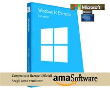 Microsoft © WINDOWS 10 ENTERPRISE 32/64BITS KEY Genuine 100% MULTILANGUAGE