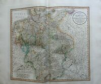 Holy Roman Empire Germany Bohemia Prussia Bavaria Saxony 1799 Cary folio map