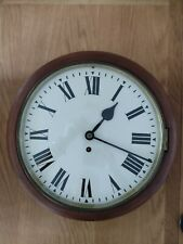 More details for antique victorian fusee school clock