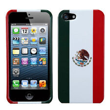 For Apple iPhone 5 5S SE HARD Protector Case Snap On Phone Cover Mexic