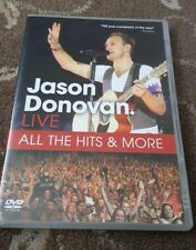 JASON DONOVAN LIVE ALL THE HITS AND MORE DVD MUSIC