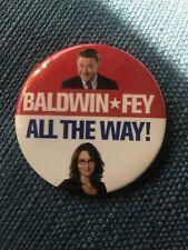Baldwin Fey All The Way - 30 Rock - Button