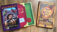 Harry Potter Lot Quidditch And Fantastic Beasts Set and Tales Of Beedle The Bard