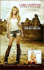CARRIE UNDERWOOD Storyteller Ltd Ed Discontinued RARE Poster+FREE Country Poster