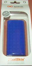 Speck PixelSkin high grade Gel case for Apple iPod nano 4th gen, Blue, New
