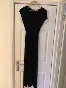 Dorothy Perkins Black Maternity Maxi Dress Size 12