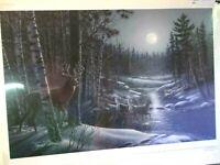 "James Meger ""Moon Shadows"" Print Signed NEW!"