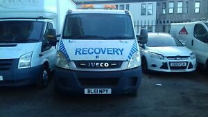 2012 FORD IVECO RECOVERY TRUCK