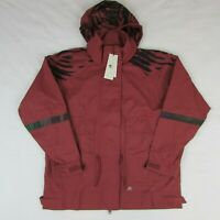 Adidas Stella McCartney Run Ultimate Jacket Women's Size M Cllay Red Maroon $230
