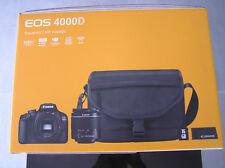 Canon EOS 4000D 18.0 MP Spiegelreflexkamera Kit mit 18-55 mm Objektiv - Schwarz (3011C013AA)