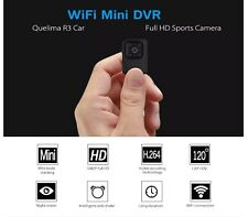 R3 Car WiFi Mini DVR Full HD Camera Night Vision 8 LED, 120° FOV, Loop-cycle Rec