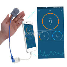 Handheld Fingertip Pulse Oximeter USB Blood Oxygen Monitor SPO2 For Android