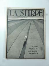 La stirpe. Direttore Edmondo Rossoni, n. 10, ottobre 1927, Cesare Gobbo
