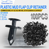 100 For Holden Commodore VY VE Bumper Radiator Cowl Push Retainer Trim Clips Pin