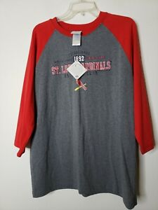 Genuine Merchandise MLB St Louis Cardinals Size Youth 16/18 Baseball Tee New