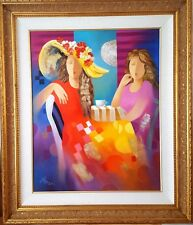 """Arbe - """"Opposite Twins"""" Original Oil on Canvas. Hand Signed with Cert of Auth"""