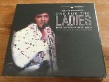Elvis Presley 2 cd - One For The Ladies - From the booth tapes vol 8 - sealed!