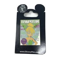 Tinkertude Magazine Cover Tinker Bell Disney Pin 100132 New on card See Photos