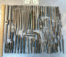 large lot Taper Hand Reamers Cutters & other machining tooling tools Machinist