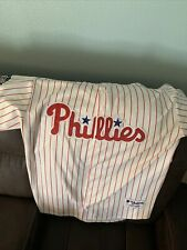 CLIFF LEE #33 Philadelphia Phillies Jersey Size 52 All-Star Patch 2011