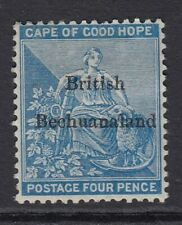 BECHUANALAND-1887 4d Dull Blue.  A mounted mint example Sg 3