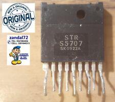 STR S5707 INTEGRATO 9 PIN ORIGINALE STRS5707 REGOLATORE DI TENSIONE