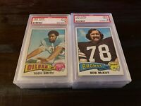 1975 TOPPS FOOTBALL PSA 9 MINT -- PICK ANY CARD(S) FROM THE LIST -- FREE SHIP