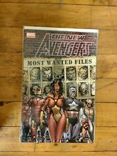 MARVEL The New Avengers Most Wanted Files #1  Unread Condition