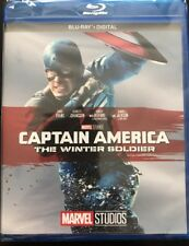 CAPTAIN AMERICA THE WINTER SOLDIER(BLU-RAY+DIGITAL)NEW UNOPENED