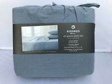 Kindred Home Luxury 4 Piece Sheet Set, Queen 100% Cotton