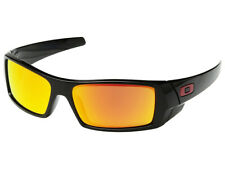 Oakley Gascan Sunglasses OO9014-4460 Polished Black/Prizm Ruby